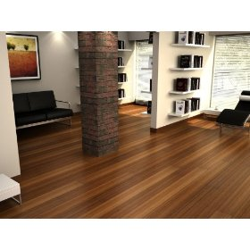 Carbonized Bamboo Line Solid Engineered Hardwood