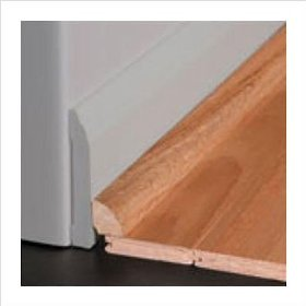 Buy white oak quarter round in unfinished bruce read for Hardwood floors quarter round